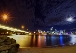 FEA-0007277 © WestPix Spectacular view of Perth from South Perth. Picutre: Shaun Fearn