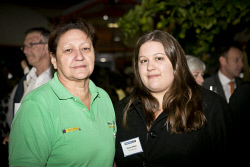 KGM-0023363 © WestPix Business After Hours at the WA Museum Kalgoorlie-Boulder, Marcia Setoki and Renae Allnutt.  (Picture: Louise White) 27th April 2016
