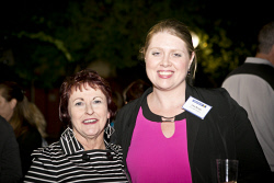 KGM-0023364 © WestPix Business After Hours at the WA Museum Kalgoorlie-Boulder, Leah Drew and Lisa Burge.  (Picture: Louise White) 27th April 2016