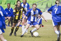 KGM-0034901 © WestPix Soccer, Kalgoorlie College vs Boulder, Kalgoorlie College's Maddi Gallagher. (Picture: Louise White) 27th August 2017