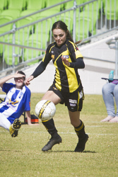 KGM-0034904 © WestPix Soccer, Kalgoorlie College vs Boulder, Boulder's Caris Tonkin. (Picture: Louise White) 27th August 2017