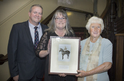 KGM-0036790 © WestPix Goldfields Sports Star of the Year and Sporting Hall of Fame.  Picture: Mary Meagher. Warren Wilson, Kerri Earl and Anne Foale, relatives of John Wilson, inductee to the Golfields Sporting Hall of Fame.