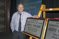 KGM-0036905 © WestPix Goldfields Sports Star of the Year and Sporting Hall of Fame.  Picture: Mary Meagher. Warren Wilson, son of  inductee to the Golfields Sporting Hall of Fame, John Wilson.