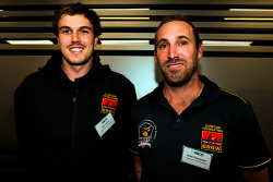 KGM-0040477 © WestPix Kalgoorlie Clontarf Academy Director Alex Devitt and Operations Officer Brett Thompson. Picture: Tori O'Connor