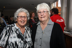 KGM-0040881 © WestPix Eastern Goldfields Historical Society Paved With Gold exhibition opening Faye Jones and Robin Bowden. Picture: Kelsey Reid
