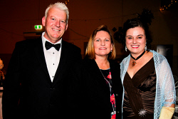 KGM-0041065 © WestPix Kalgoorlie-Boulder's 125th anniversary Historical Gala Ball. Darryl Gaunt, Donelle Gaunt and Tanya Stafford. Picture: Tori O'Connor