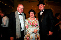 KGM-0041066 © WestPix Kalgoorlie-Boulder's 125th anniversary Historical Gala Ball. John Bowler, Lisa Fardell and Nick Fardell. Picture: Tori O'Connor