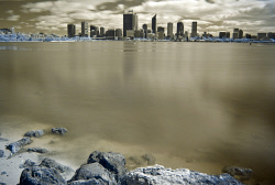 SMI-1400860 © WestPix The Perth City Skyline as seen from South Perth foreshore. Picture: Peta Smith