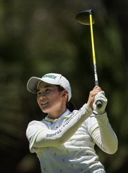 SUN-1404147 © WestPix The Australian Amateur Golf Championship at Lake Karrinyup golf club in Karrinyup, Perth. Pictured is Suzuka Yamaguchi. Picture: Ross Swanborough. 20 January 2018.