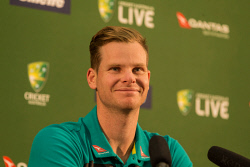 SUN-1404238 © WestPix Australian cricketer Steve Smith during a press conference in Perth. Picture: Ross Swanborough. 27 January 2018