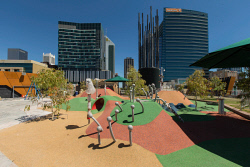 SUN-1404403 © WestPix Preview of the opening of Yagan Square in Perth. Photo: Ross Swanborough.