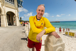 SUN-1404408 © WestPix Dr David Honey, Liberal candidate for the Cottesloe by-election pictured at Cottesloe Beach, Perth. Photo Ross Swanborough. 15 February 2018