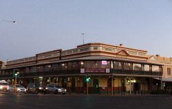 SUN-1405685 © WestPix City of Kalgoorlie hosting the Diggers and Dealers 2018. Pictured - Palace Hotel. Picture: Daniel Wilkins