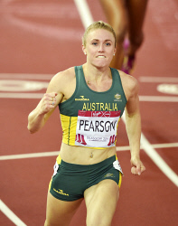 TWA-0058661 © WestPix Glasgow Commonwealth Games 2014. Women's 100m Hurdles Round 1 - Heat 2 at Hampden Stadium. Sally Pearson wins her heat easily. Picture: Ian Munro. The West Australian. 31st July 2014