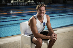 TWA-0060823 © WestPix Portraits of swimmer James Roberts at HBF stadium today. Picture: Michael Wilson The West Australian.