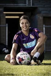 TWA-0082678 © WestPix My 2017: International soccer star Sam Kerr. Photo by Michael Wilson, The West Australian.