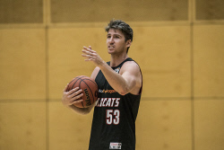 TWA-0082746 © WestPix NBL: Perth Wildcats training at Jack Bendat Centre. Damian Martin. Photo by Michael Wilson, The West Australian.