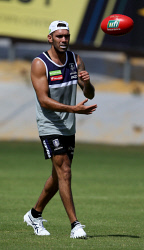 TWA-0082919 © WestPix Fremantle Dockers train at Cockburn. Harley Bennell. Picture: Sharon Smith The West Australian