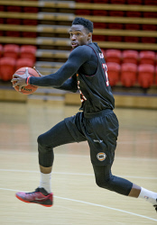 TWA-0083318 © WestPix Derek Cooke Jr pictured at Wildcats training this morning.  Picture: Steve Ferrier The West Australian.
