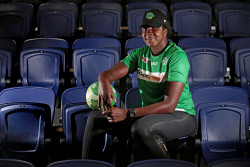 TWA-0084203 © WestPix New West Coast Fever shooter Jhaniele Fowler has arrived in Perth ahead of her first season with the Club. The Jamaican is predicted to be a game changer for the Fever in 2018. 23 JANUARY 2018 Picture: Danella Bevis The West Australian