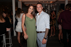 TWA-0087810 © WestPix Miss West Coast 2018 Finalists Cocktail Party at Cottesloe Beach Hotel on Wednesday March 28th, 2018. Langli Rocci & Nathan Crupi Picture: John Koh.
