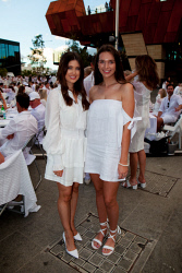 TWA-0088347 © WestPix 2018 | SWM Socials - Diner en Blanc at Yagan Square on April 7th, 2018. Photo - Caitlin Farnell & Shona Coops Picture: Alan Chau The West Australian.