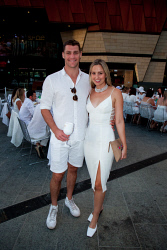 TWA-0088348 © WestPix 2018 | SWM Socials - Diner en Blanc at Yagan Square on April 7th, 2018. Photo - Jack Johns & Laura O'Brien-Oxley Picture: Alan Chau The West Australian.