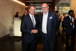 TWA-0088605 © WestPix Cannings Purple Official Office Opening at Brookfield Place on Tuesday April 10th, 2018. Gavin Brown & Jamie Wilkinson  Picture: John Koh.