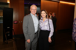 TWA-0088608 © WestPix Cannings Purple Official Office Opening at Brookfield Place on Tuesday April 10th, 2018. Geoff Simpson & Meredith Campion  Picture: John Koh.