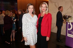 TWA-0088609 © WestPix Cannings Purple Official Office Opening at Brookfield Place on Tuesday April 10th, 2018. Rhiannon Clews & Jaimie Godden  Picture: John Koh.