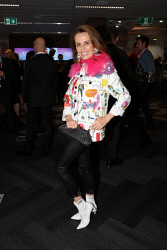 TWA-0088614 © WestPix An Evening with Telstra Perth Fashion Festival at Brookfield Place on Thursday April 12th, 2018. Dianne Laurance  Picture: John Koh.