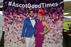 TWA-0088631 © WestPix Amelia Park Karrakatta Plate Day at Ascot Racecourse on Saturday April 14th, 2018. Hans Bruechle & Haley Thompson Picture: John Koh.