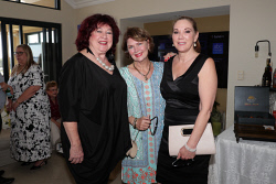 TWA-0088639 © WestPix Friends of Ngala Autumn Sundowner at Ardoss on Sunday April 15th, 2018. Trish Somers, Judith Black & Brenda Duncan-Smith Picture: John Koh.