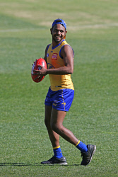 TWA-0090014 © WestPix Willie Rioli. West Coast Eagles training at Subiaco Oval. 22 MAY 2018 Picture: Danella Bevis The West Australian