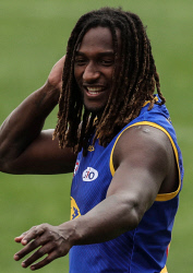 TWA-0090484 © WestPix AFL / West Coast Eagles Training: Nic Naitanui. Photo by Michael Wilson, The West Australian.