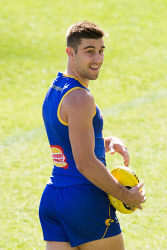 TWA-0091017 © WestPix West Coast Eagles recovery, Subiaco Oval. Elliot Yeo Picture: Simon Santi The West Australian