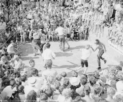 WAN-0007809 © WestPix Rock 'n' roll dancing at The Snake Pit in Scarborough. Circa 1957.  WAN Historical Archive