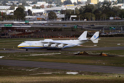 WAN-0026616 © WestPix The Antonov AN-225 at Perth Airport. Picture: Geoffrey Thomas