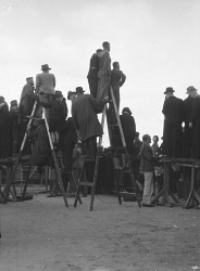 WAN-0030278 © WestPix Football crowd watching a game at Subiaco Oval. Circa 1937.  WAN Historical Archive