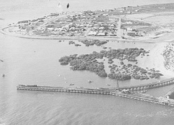 WAN-0031739 © WestPix AERIAL VIEW OF PORT HEDLAND.  1948.