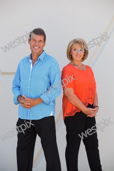 Channel 7 Perth news readers Rick Ardon and | WestPix
